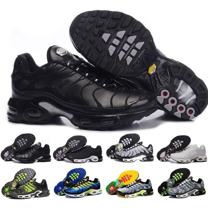New Arrivals Chaussure TN Plus Running Shoes 95 Tn Men 97 Outdoor Run Shoes Black 98 Trainers White Sports Athletic Sneakers