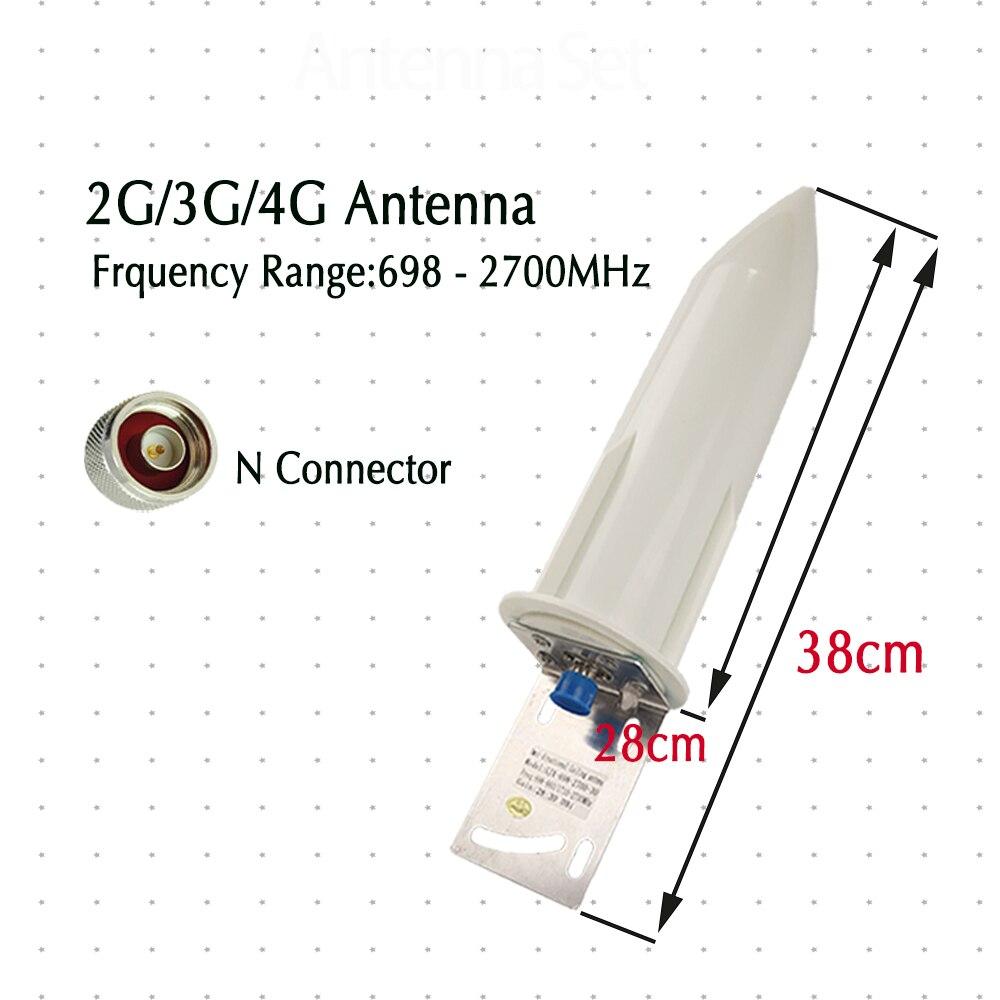 מיכל אסלה חרסה ZQTMAX 28-30dBi אנטנה חיצונית עבור 3g 2g מגבר אות הסלולר 4G 800 900 1700 1800 1900 2100 2300 2600 MHz GSM DCS UMTS LTE (2)
