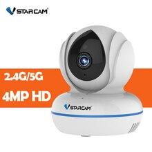 Vstarcam 4MP Full HD 2.4G/5G WiFi Wireless IP Camera C22Q H.264/H.265 Night Vision Intercom Mini Surveillance Security Camera