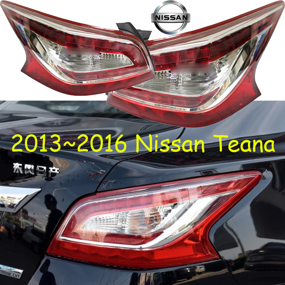 Teana taillight,2011~2012/2013~2016,Free ship!2pcs/set,Teana rear light,Red color,Teana headlight;Bluebird,Sunny,Teana bluebird breaking light 2006 2011 free ship led sylphy rear light led 2pcs set sylphy taillight bluebird teana sunny march