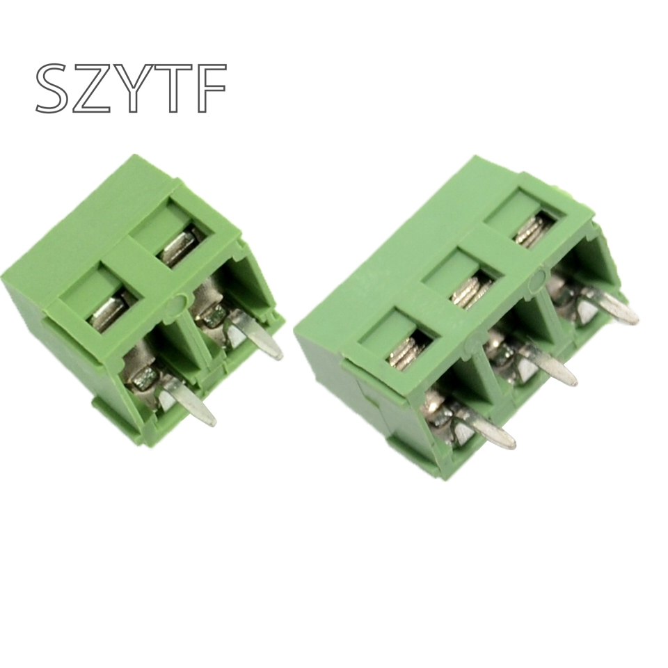 20pcs/lot KF127 300V 10A 5.08MM 5.0MM KF127 2p 3p 4p 5p 6p 8p Joining Together   Spliced PCB Terminal