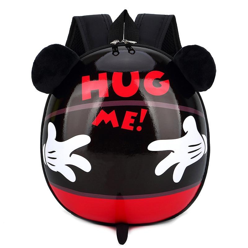 Disney New Children's School Bag Kindergarten Boy Baby Eggshell Backpack Cartoon Mickey Mouse Cute Little Girl Backpack