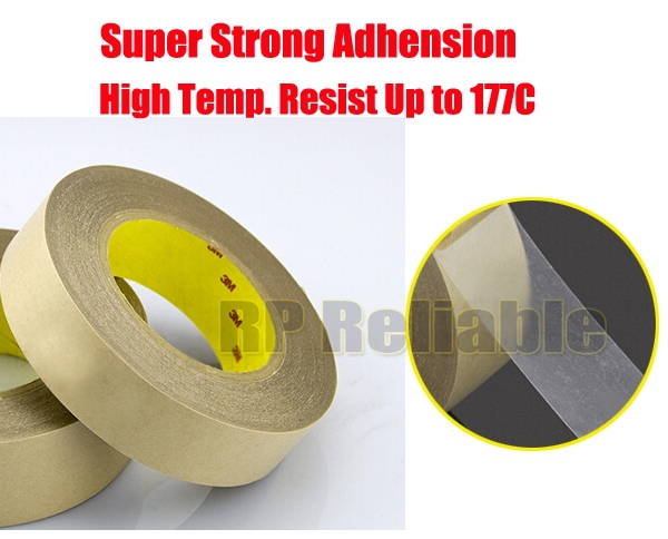 10mm or 12mm/15mm Original 3M Super High Bond Clear Double Sided Adhesive Tape for Windows Display Assemble Hi Temp. Resist