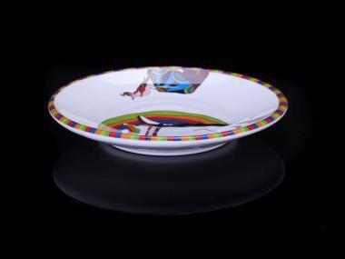 New Fashion Plate Melamine Tableware Ring Striae Round Plate Chain Restaurant With Melamine Plate A5 Melamine & Aliexpress.com : Buy New Fashion Plate Melamine Tableware Ring ...