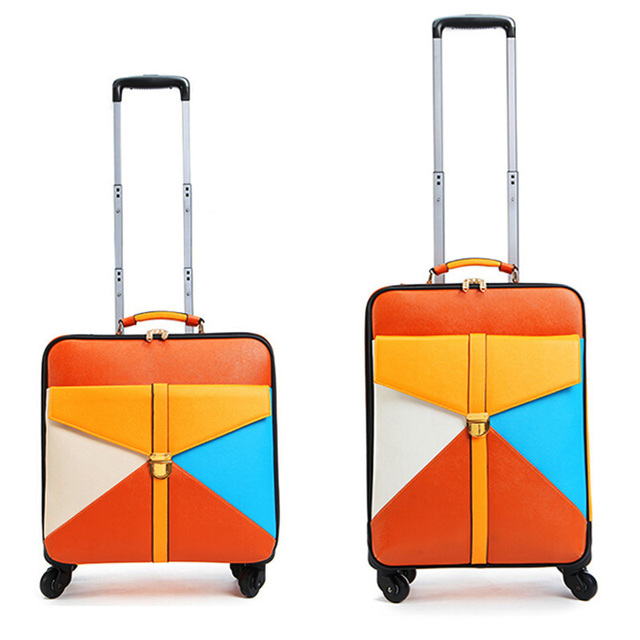 High Quality Travel Suitcase Women Trolley Travel Bags Spinner Wheels Student Rolling Luggage Boarding Travel Luggage