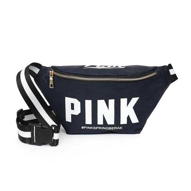 397ccf23ac16 US $7.59 50% OFF|2018 fashion fanny packs women Hip bum bag girls pocket  diagonal cross bag pink purse ladies pack belt heuptas pockets -in Waist ...