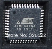 5 PCS ATMEGA16A-AU QFP-44 ATMEGA16A ATMEGA16 8-bit Microcontroller with 16K Bytes In-System Programmable Flash