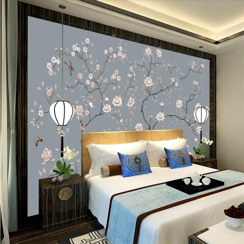 beibehang Wallpaper murals custom living room bedroom hand ...