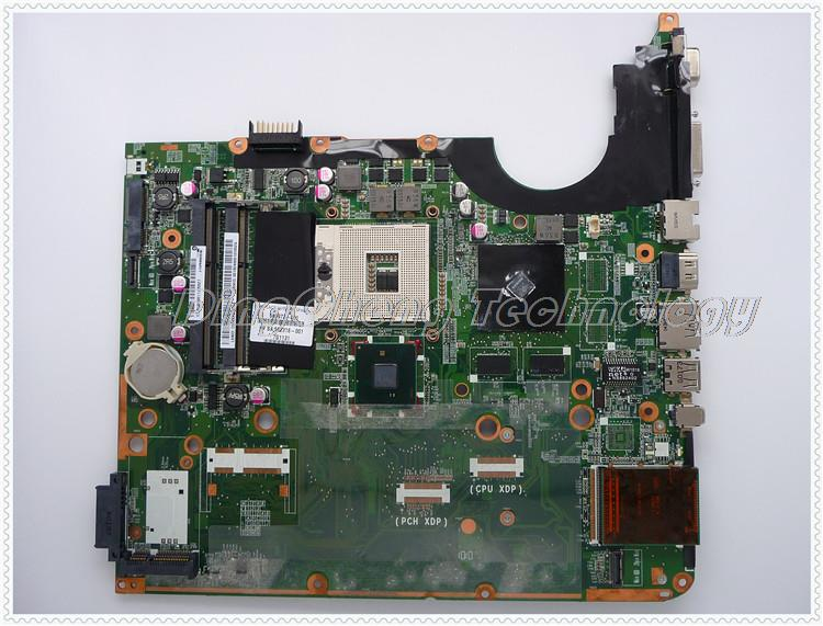SHELI laptop Motherboard For hp DV7 580973-001 DA0UP6MB6F0 AMD G105M chipset 512MB non-integrated graphics card sheli laptop motherboard for hp dv7 6000 655488 001 hm65 dsc 6770 2g non integrated graphics card