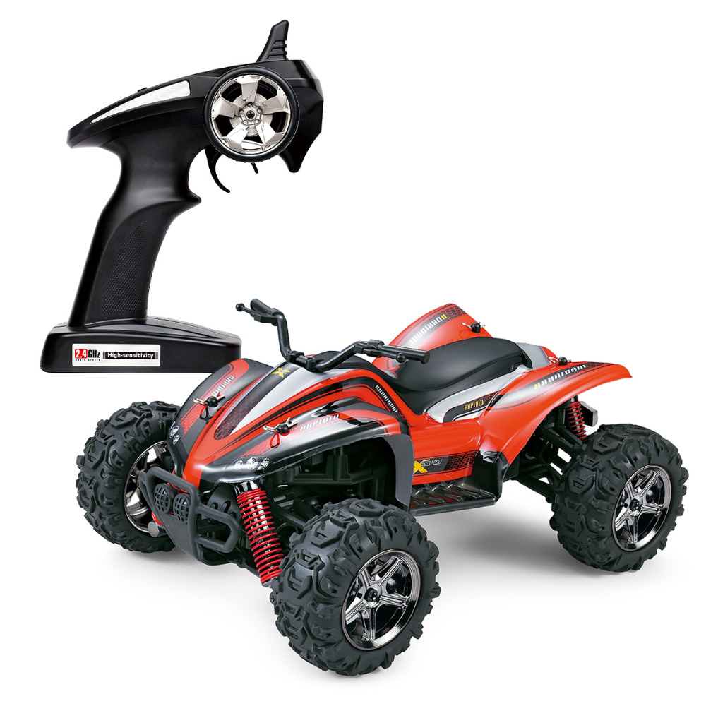RC Car 1/24 High Speed mini Motors Drive RC Toys Hobby Car 2.4GHz Full Scale High Speed 4WD Off Road RC toys for Boys Gifts