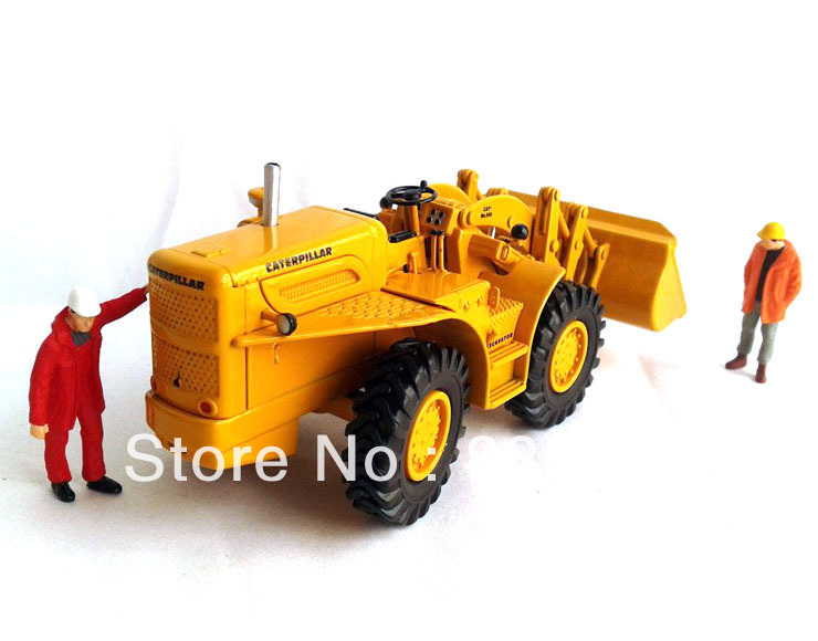 US $44 1 10% OFF|1:50 Caterpillar Cat 966A Traxcavator Norscot #55232  Construction vehicles toy-in Diecasts & Toy Vehicles from Toys & Hobbies on