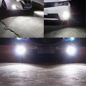 Image 5 - H8 h11 lâmpadas led hb4 9006 hb3 9005 luzes de nevoeiro condução 3030smd cauda lâmpada luz do carro estacionamento 1250lm 12v 24v automóvel 6000k branco