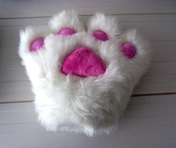 Cat Paw Gloves Animal Paw Gloves Paw Gloves Big Bear Paw Plush