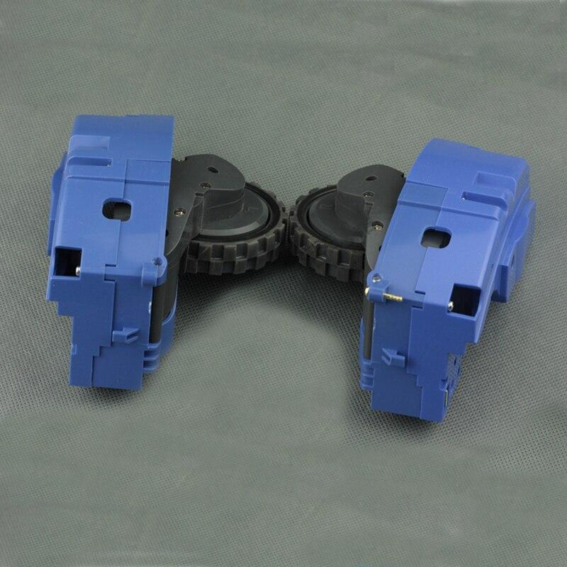 (L + R) Rodas de substituição para irobot roomba Série 600 700 500 620 650 630 660 595 780 760 770 Vacuum Cleaner Parts