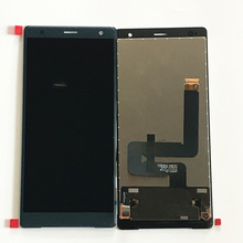 Original Replacement LCD For Sony Xperia XZ2 H8296 LCD Display Touch Screen Digitizer Assembly 5.7 4 6 white or black for sony xperia z3 mini compact d5803 d5833 lcd display touch digitizer screen assembly sticker