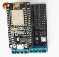Official DOIT ESP8266 NodeMCU Development Kit NodeMCU V2 + Motor Shield L293DD diy RC Toy WiFi Smart Car Remote Control Robot