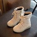 BOTAS MENINOS Sapatos de Crianças Snowboots Alta Dos Desenhos Animados Menino do Inverno Martin Botte Femme Bottes Chaussure Enfant Fille Sapato Infantil De Menina