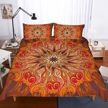 купить Bohemia Ethnic style 3D printing bedding set duvet cover set comforter bedding sets bed linen US GB AU 13 Size bed set full king по цене 1833.44 рублей