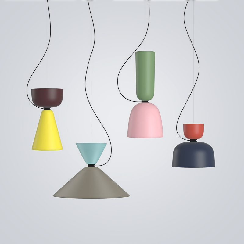 LICAN Nordic restaurant Pendant Lights dining room bedroom lamp creative personality bar table lights Pendant lamp home decors chinese style classical wooden sheepskin pendant light living room lights bedroom lamp restaurant lamp restaurant lights