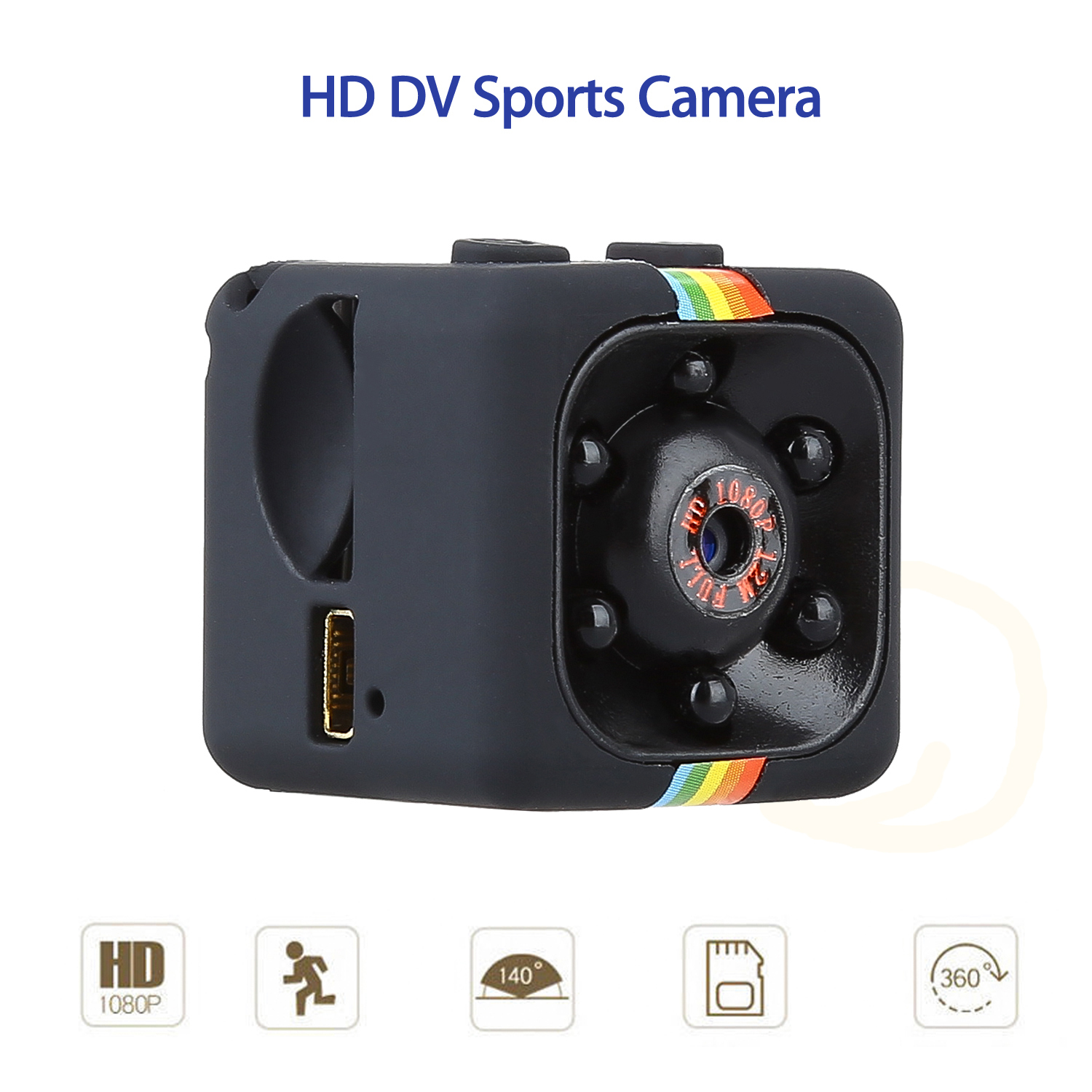 TOMLOV 1080P 30fps Full HD IR DV Digital Recorder Sports font b Action b font Video