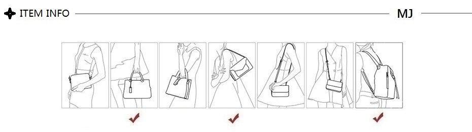 hand shoulder backpack