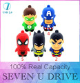 Yufanyf usb flash drive 32 gb 64 gb super hero pen drive dos desenhos animados quente venda usb stick bonito mini pendrive 4G 8G 16G U disco flash cartão