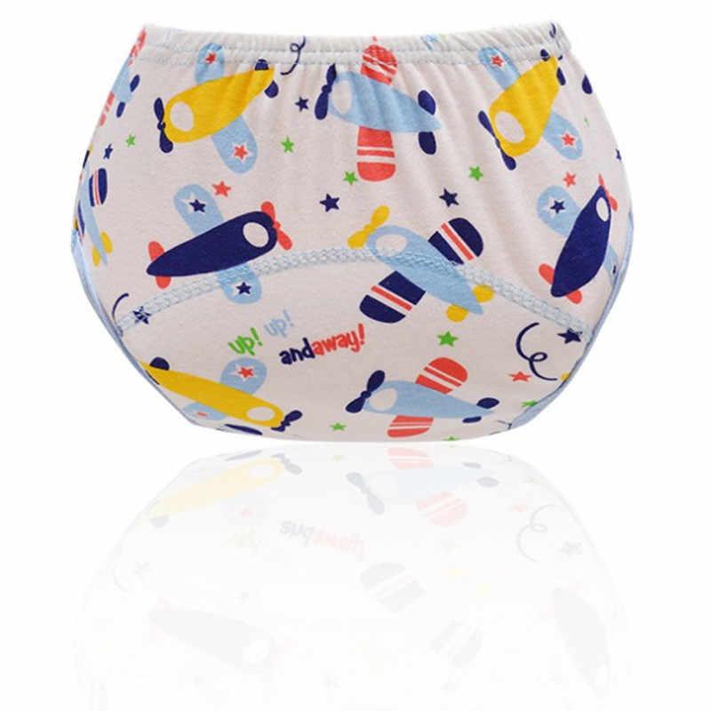 Zmywalne pieluchy dla dzieci ściereczka wielokrotnego użytku pieluchy wodoodporne noworodka bawełniane majtki na pieluchę dla dzieci spodnie treningowe bielizna nocna