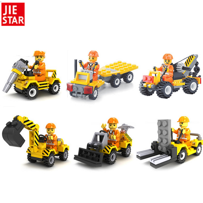 2016 New 1pcs set City Construction Building Blocks Brick Toys for Boys Girls Children Kids Blocks