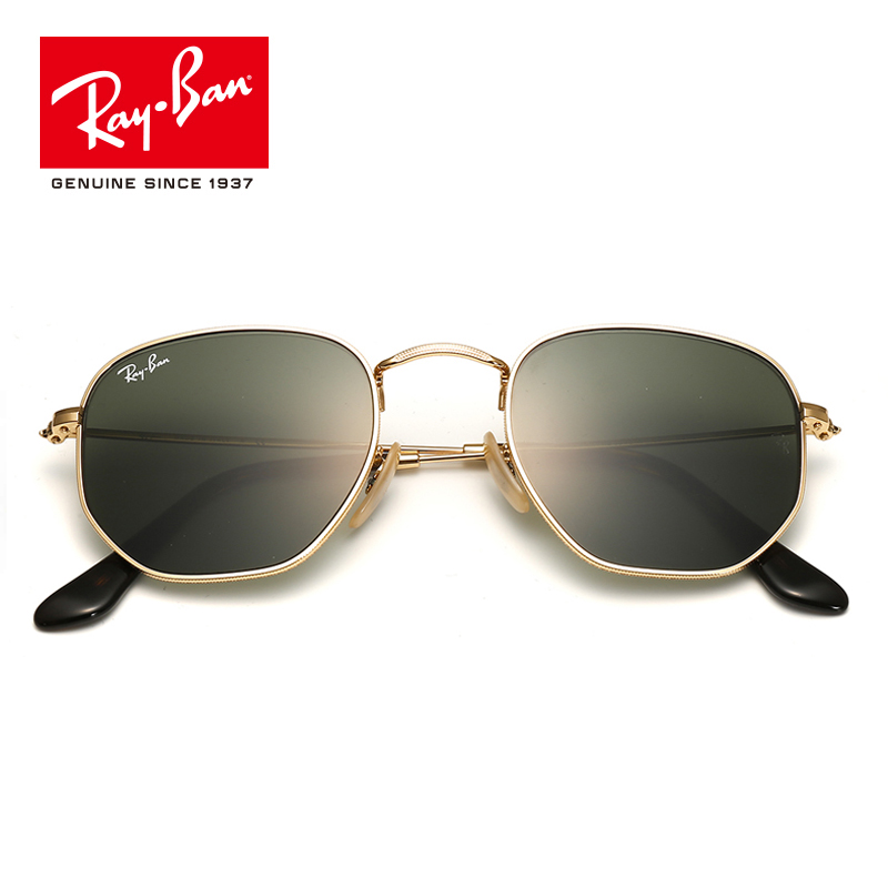 Rayban Original Outdoor Sunglasses Brand Designer Polarized Male Eyeglasses gafas For Mens Women Sun Glasses RB3548-OO1 2016 high quality tr90 eyeglasses sunglasses clip brand polarized lens men women myopia clips driving sun glasses with case hp90