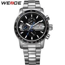 65ca47d8995 Reloj WEIDE 2018 New Fashion Grande Mostrador do Relógio Militar Relógio de  Quartzo dos homens Relógio