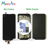High Quality 4.9'' For LG X Screen K500 K500H K500F K500N LCD Display Screen With Touch Screen Digitizer Assembly + Tool