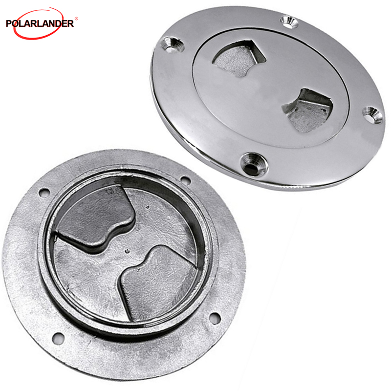 "Marine 4/"" Inspection Deck Plate for Boat 316 Stainless Steel"