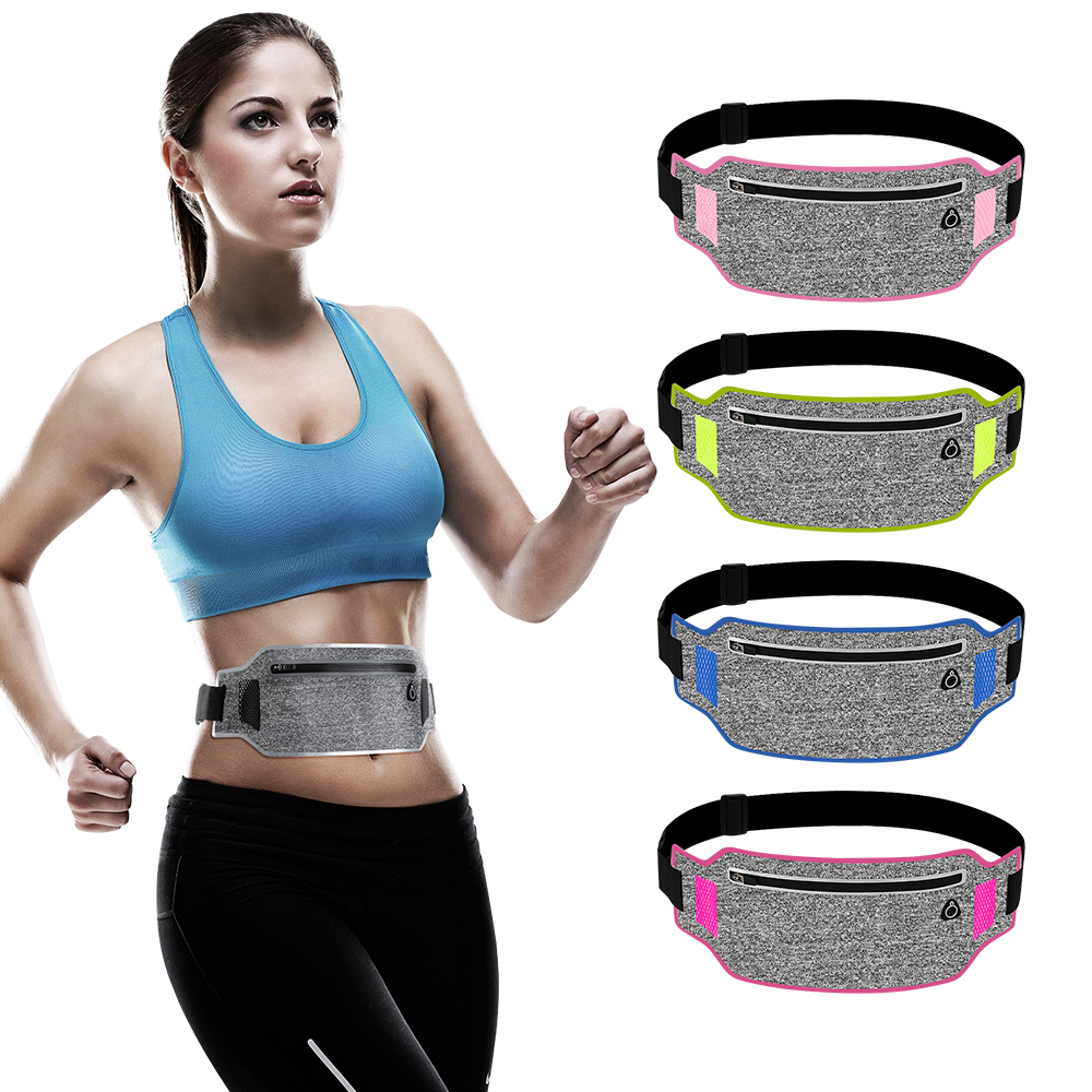 Ultralight Waist Bag Running Belt Waterproof Mobilephone Holder Pouch Jogging Belt Men Women Gym Fitness Bag Outdoor Sport Train