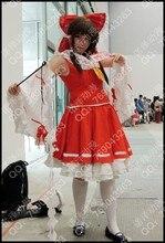Free shipping font b Anime b font Touhou Project font b Cosplay b font Costume Reimu