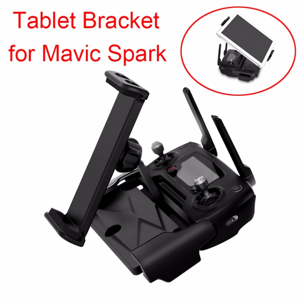 7.9 9.7 Tablet Bracket Phone Holder Mount stand for DJI Mavic Pro Mavic Air Spark Drone Transmitter remote control for iPad mini