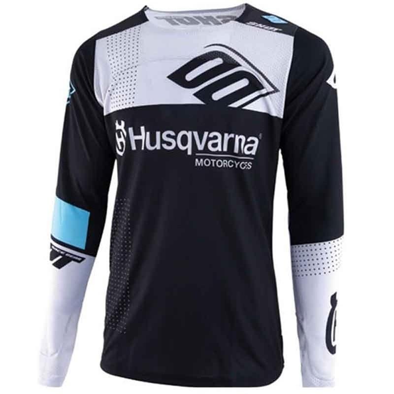 Downhill Jersey Mtb-Tshirt Riding-Clothing Mountain-Bike Husqvarna Motorcycle Long-Sleeve