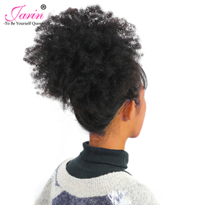 Image 2 - Afro Kinky Curly Hair Weave 1 2 3 6 9 Bundles Deal Remy Hair 100% Human Hair Extension 8 20 Inch Natural Color Jarin Hair Bulk
