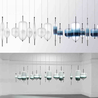 Modern Ideas Personality Pendant Light Creative Pendant Lamp Glass Ball Hanging Lamp Nordic Designer Light Art