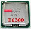 Пожизненная гарантия Pentium E6300 2.8 ГГц 2 м 1066 двухъядерный настольных процессоров процессор 6300 сокет LGA 775 контакт. компьютер бесплатная доставка