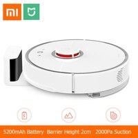 [Международная версия] Xiaomi Mijia Roborock пылесос 2 Автоматическая уборка территории 2000 pa всасывания 2 в 1 подметания уборка