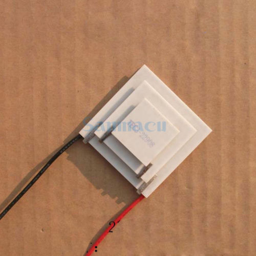 25x38x50x10.7mm 8A 16V 26.4W TEC3-22908 Thermoelectric Cooler Peltier Heatsink25x38x50x10.7mm 8A 16V 26.4W TEC3-22908 Thermoelectric Cooler Peltier Heatsink