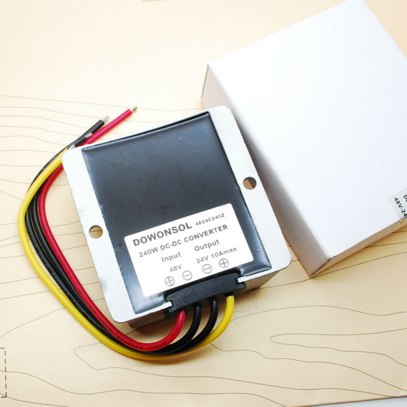 Convertisseur cc/cc haute tension abaisseur convertisseur cc/cc 24V-24V8A 192 w