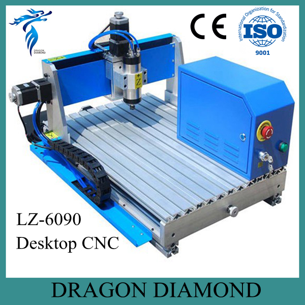 Professional Advertising Signs CNC Engraver Machine Desktop Mini CNC Router LZ-6090 portable mini aluminum cnc router akg6090 cnc metal carving and cutting machine for advertising signs industry