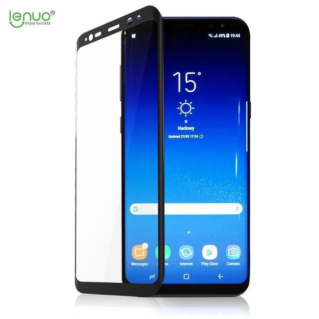 Lenuo New 3d Heat Bending Full Screen Mobile Phone Film For Samsung