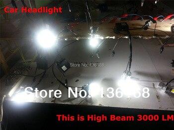 Бесплатная доставка Cob 60W 3000LM 5000K 6000K комплект автомобильных светодиодных фар лампа H7 H11 H8 HB3 9005 HB4 9006 комплект автомобильных головных фонарей