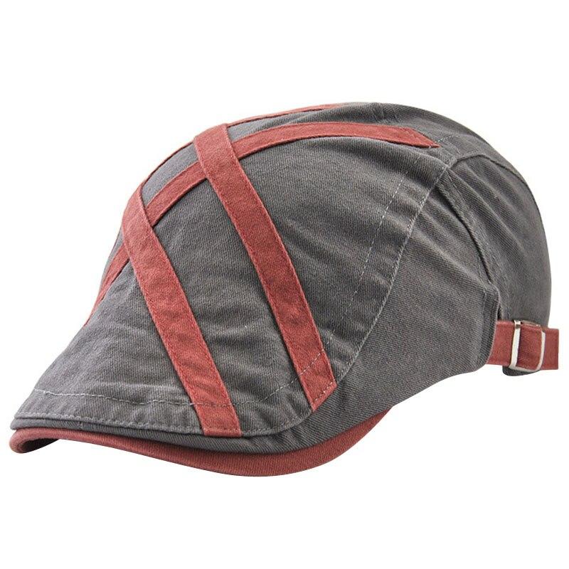 JAMONT Cotton Beret Hats Flat-Caps Boinas Vintage Women Men's Summer New Spring Unisex