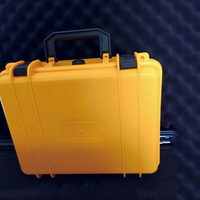 Yellow Color Ordinaryplastic Tool Case For Devices Protection