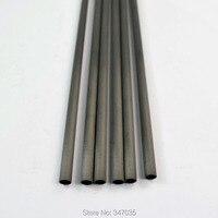 20 adet saf karbon ok mili omurga 340 + 20 pcs insert + 20 adet ID6.2mm mil okçuluk yay için nock kullanımı