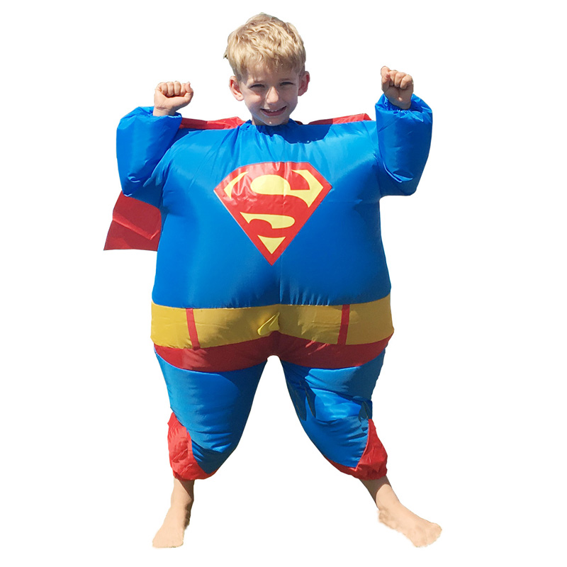 Bambini Superman Gonfiabile Superman Costume Disfraz Infantil
