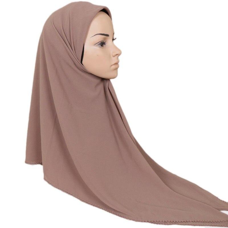 10pcs lot Women Bubble Chiffon Shawl Pleated scarf Tudung Hijabs big square Scarf large Muslim Turban